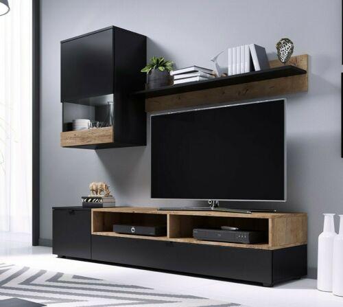 Wohnwand Pat Wohnzimmer-Set Modern Design Kollektion Wohnzimmer Möbel M24