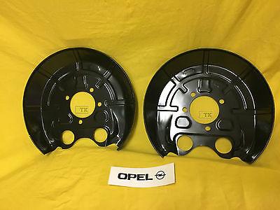 NEU ORIG Opel Satz Ankerblech hinten Vectra C Signum Abdeckblech Bremsscheibe