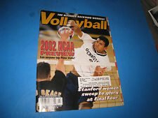Volleyball Magazine MARCH 2002 BACKYARD WORKOUT, NCAA PREVIEW, PENN ? ISSUE 4P3