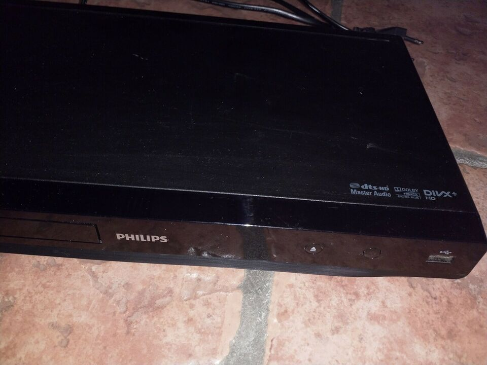 Blu-ray afspiller, Philips, BDP2600 / 12