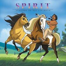 Spirit: Stallion of the Cimarron 8x8 by Mary Hogan, Good Book