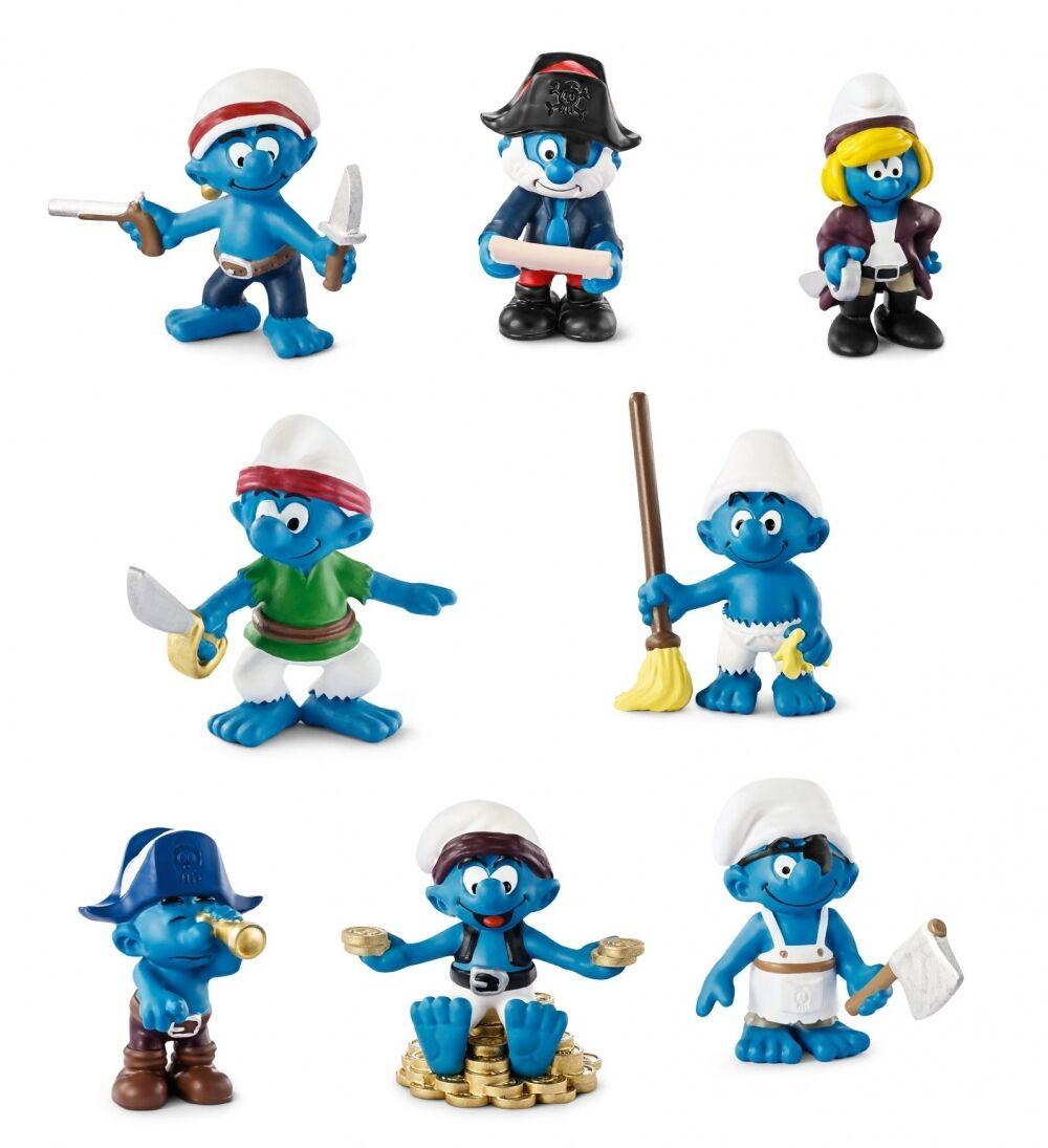 Schleich - Piraten Schlümpfe - Neuheiten 2014 (8-Figuren) 20760 - 20767 Auswahl