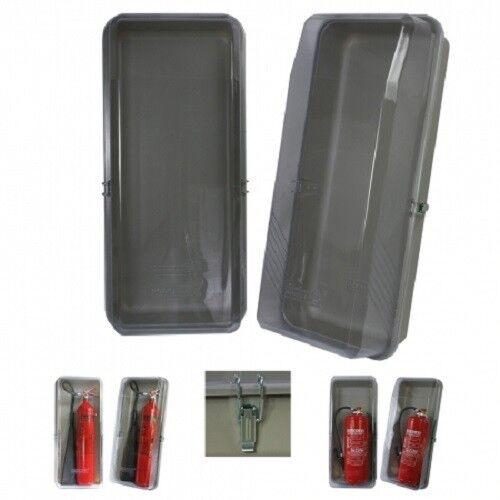 Feuerlöscher Schutzbox Klarsicht Schutzbox für 9 und 12 kg Geräte