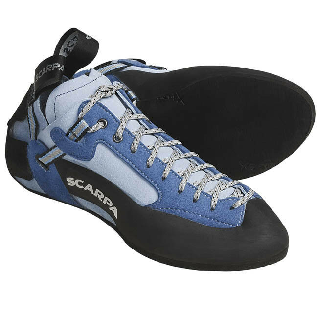 Scarpa Techno Climbing shoes - Vibram XS Edge - Women's Size 34.5 (4 US) Arctic
