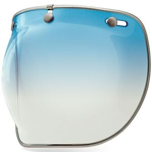 Fantastic Details About Bell Custom 500 3 Snap Bubble Deluxe Shield Ice Blue Gradient Beatyapartments Chair Design Images Beatyapartmentscom