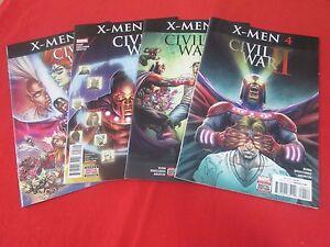 Civil War II X-Men 1-4 Complete Comic Lot Run Set Marvel Collection