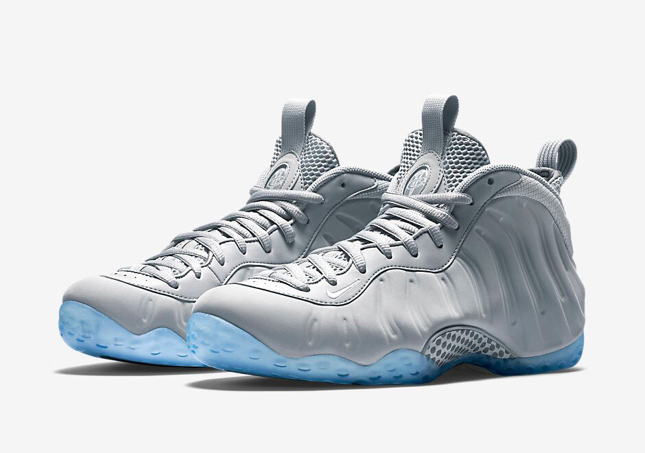 Nike Air Grey Foamposite One Suede Wolf Grey Air Size 13. 575420-007 jordan penny 1 2 3 4 8e55be
