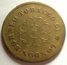 British North Borneo $1 London Borneo Tobacco Company