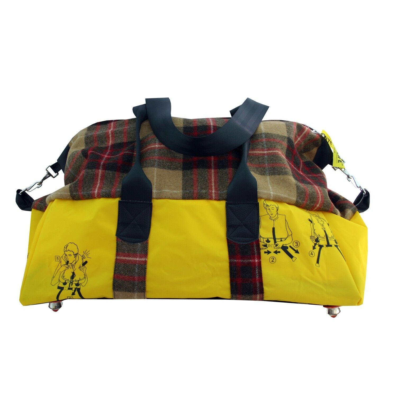 BAG TO LIFE Weekender Reisetasche Shopper UNIKAT Upcycling einer Rettungsweste Rettungsweste Rettungsweste | Deutschland Online Shop  | Abrechnungspreis  | Günstigstes  20c283