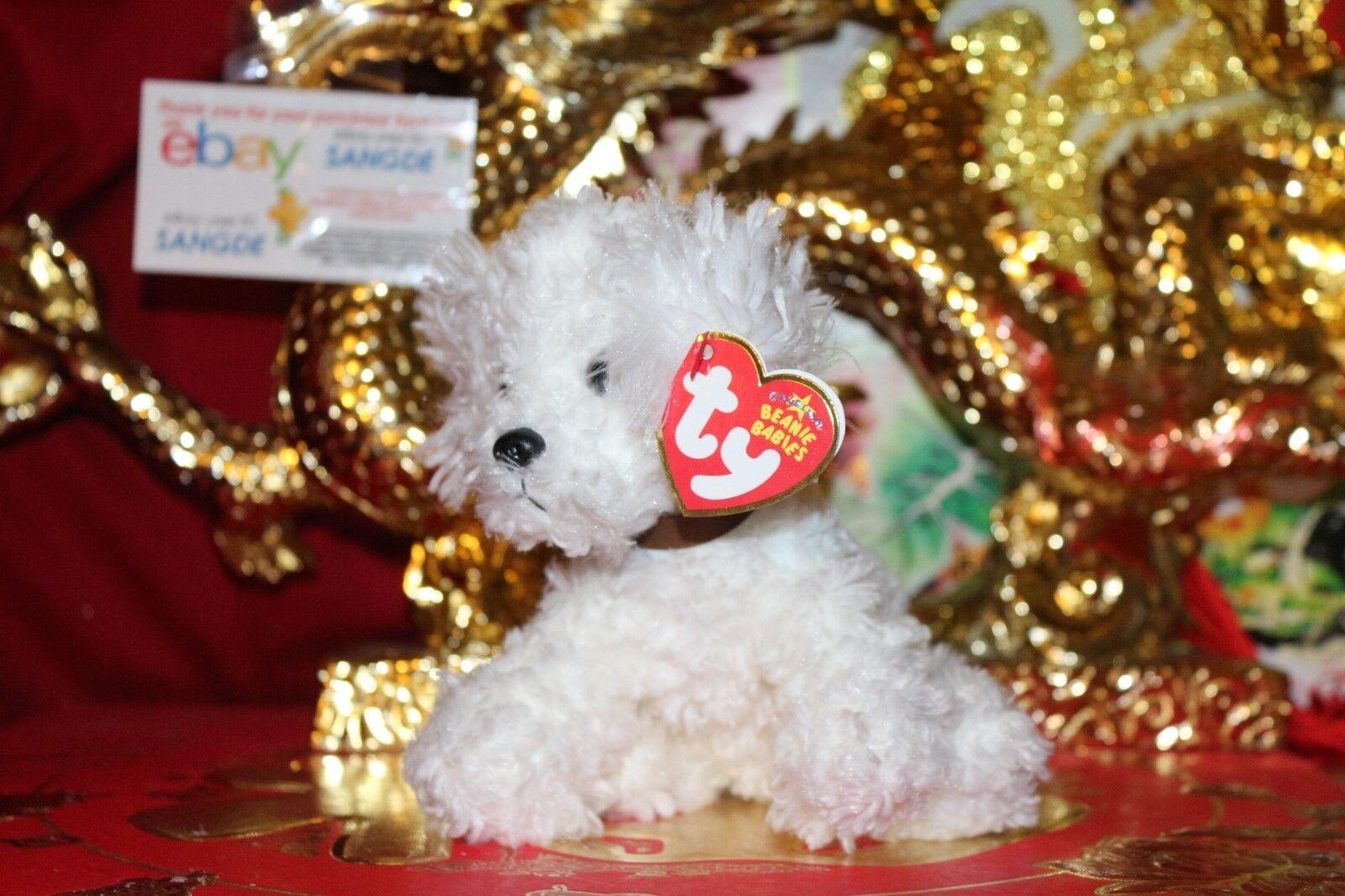 Ty beanie baby lollipup der bichon frise puppy-6  - mwnmt-2005 release-nice geschenk