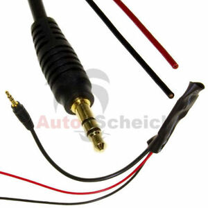 vehicle car radio aux bluetooth adapter cable 3 5mm jack plug module mobile ebay. Black Bedroom Furniture Sets. Home Design Ideas
