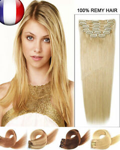 Meilleur extension cheveux naturel clip