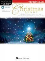 Christmas Songs For Tenor Sax Instrumental Play-along Instrumental Pla 000146860