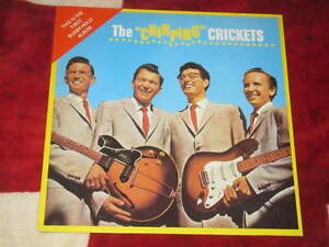 """BUDDY HOLLY - The """"Chirping"""" Crickets German MONO reissue - Italia - BUDDY HOLLY - The """"Chirping"""" Crickets German MONO reissue - Italia"""
