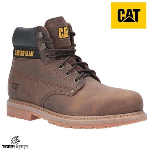 Caterpillar CAT Powerplant Sb Hro Sra Herren Stahlkappe Sicherheit Stiefel Work