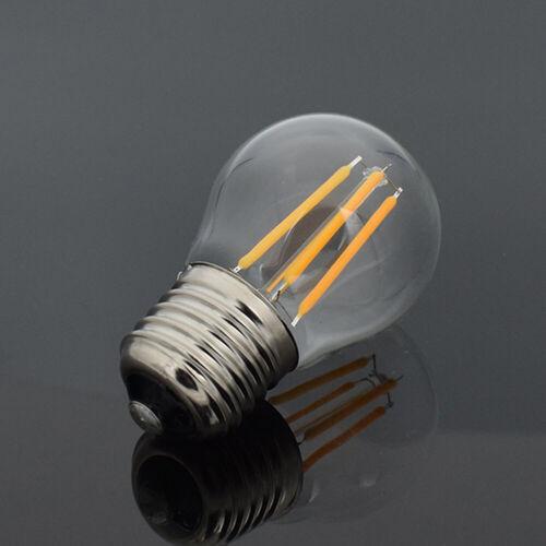 E27 LED Lampen Leuchtmittel COB Filament Glas Birne Fadenlampe 4-16W 220V 10x