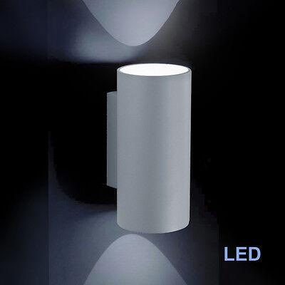 Außenleuchte 2x LED Wandleuchte IP 54 Up Down Außen Wandlampe Fischer Leuchten