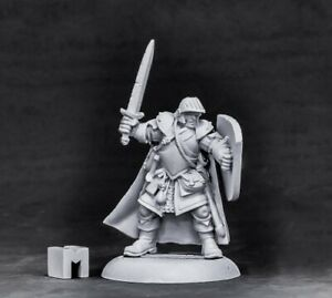 Reaper-Dungeon-Dwellers-Baran-Blacktree-Veteran-Warrior-07002-Unpainted-Metal