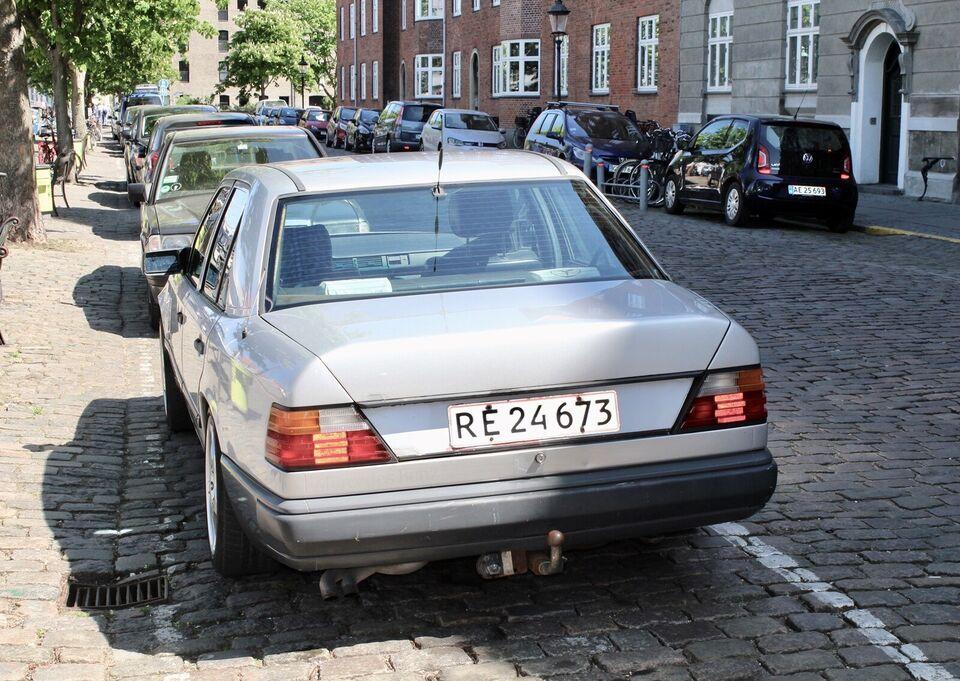 Mercedes 280 E, 2,8 aut. lang, Benzin