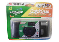 3 Fujifilm 24mm Advanced Photo System Quicksnap One-time Use Camera