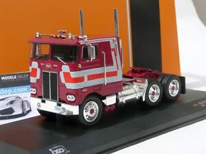 IXO-DIECAST-1-43-1979-Peterbilt-352-marcapasos-Camion-Tractor-CAB-Rojo-Oscuro-TR024