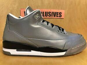 07ed9b10d351 Nike Jordan Retro 3 5LAB3 Reflective Silver 3M 631603-003 Size 10.5 ...