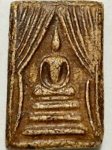 PHRA SOMDEJ PROKPO LP RARE OLD THAI BUDDHA AMULET PENDANT MAGIC ANCIENT IDOL#44