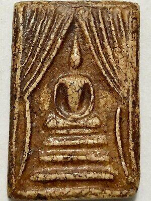 PHRA JATUKAM RAMATHEP LP RARE OLD THAI BUDDHA AMULET PENDANT MAGIC ANCIENT IDOL7
