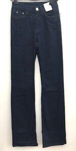Ex M/&S Ladies Roma Rise Slim Fit Leg Stretch Cotton Jeans Marks Spencer Per Una