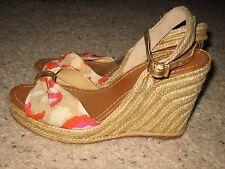 Kate Spade Womens Wedge Heels Shoes 8.5 AP