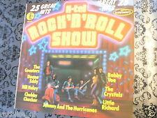 LP RECORD VINYL COVER SCOOTER VESPA ? OLDTIMER,K-TEL ROCK AND ROLL SHOW NE975