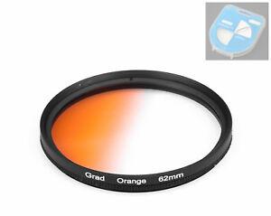 Dhd-Digital-Brands-62mm-Color-Graduated-Filters-Orange-Screen-62-MM