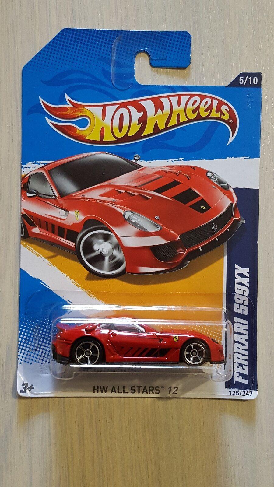 Hotwheels 2011 Ferrari 599XX HW All Stars