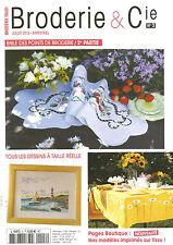 BRODERIE & Cie N°03 FRAISES / CITRONS / PERLES - PAILLETTES - BRODERIES...