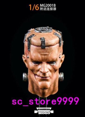 "MOGO TOYS 1//6 Frankenstein MG2001B Head Sculpt PVC tOY Fit 12/""Action Figure"