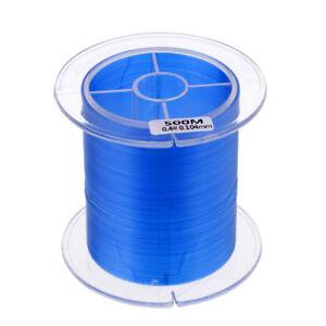 Linea-da-Pesca-Blu-in-Nylon-Attrezzatura-per-Pescatore-Lenze-Monofilo-500m