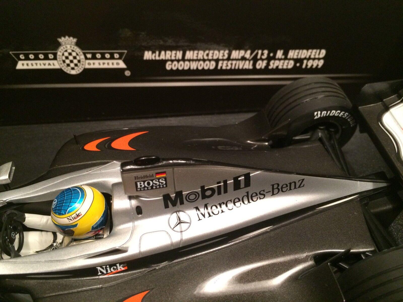 McLaren Mercedes MP4 13 Goodwood Goodwood Goodwood Festival of Speed Minichamps 991899 1 18 scale f56eb4