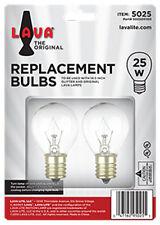"""2 Pack Lava Lamp 25 Watt Replacement Bulbs for 14.5""""/20oz lamp"""