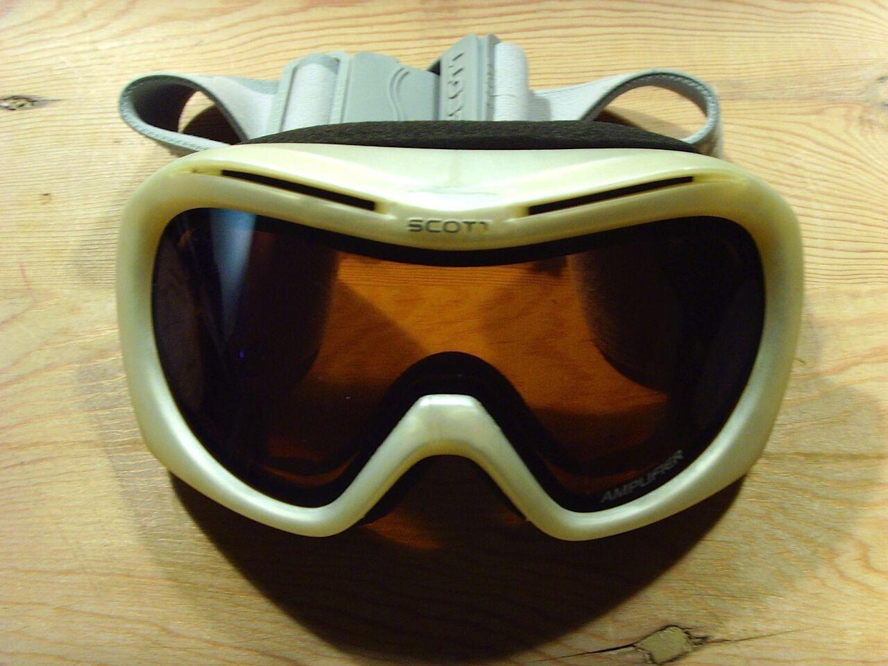 Usado - Gafas de Ski SCOTT Ski Glasses Goggles - Modelo Aviador - Usado