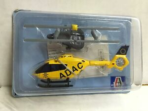 Italeri 1:100 Elicottero in metallo Eurocopter AS350 HELI USA Diecast MOC