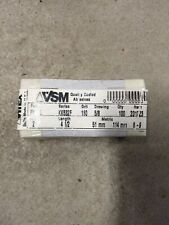 2 X 45 Sanding Paper 180 Grit 100 Pack Made By Vsm In Germany