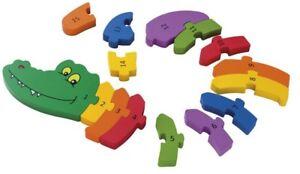 playtive zahlen puzzle holz 15 teile kinder ab 2 jahre lernspielzeug ebay. Black Bedroom Furniture Sets. Home Design Ideas