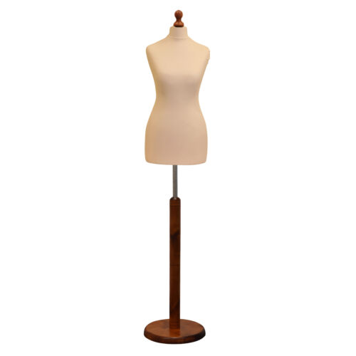 ❤ Size 16 Female Tailors Dressmaker Mannequin Bust Fashion Dummy Retail Display