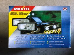 MAXTEL-halogen-driving-fog-lights-JF-226-BW-NIB-Set-of-2
