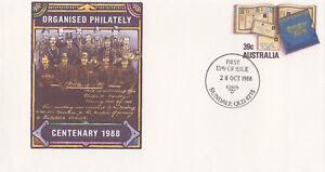 (13963) Australie Entiers Postaux Fdc Organisé Philatélie 28 Octobre 1988-afficher Le Titre D'origine Paquet éLéGant Et Robuste