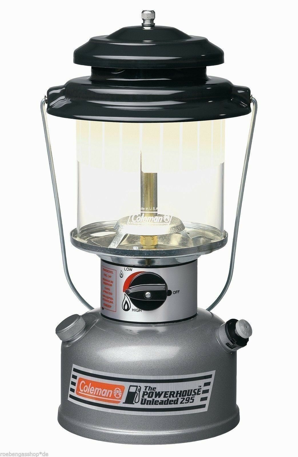 Coleman BENZINA Lampada Unleaded Powerhouse 175 Watt LANTERNA