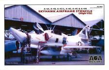 AOA Decals 1/48 DOUGLAS A-4 SKYHAWK HIGH VIZ AIRFRAME STENCILS