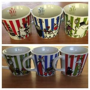 Moomin-Mug-Tea-Cup-Set-of-KFC-Limited-Edition-Sold-at-ONLY-KFC-Japan-F-S-Used