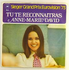 """7"""" Single - Anne Marie David - Tu Te Reconnaitras - S1303 - washed & cleaned"""