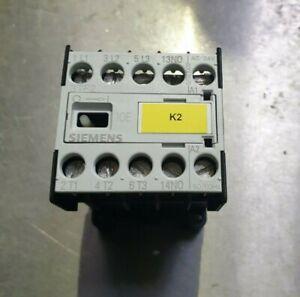 Siemens Schütz 3TF2010-0BB4 Contactor 3TF2 Spannung 24V DC Hilfsschalter